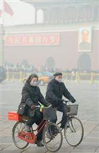 中国で最悪の大気汚染、有害物質が日本に到達する恐れも