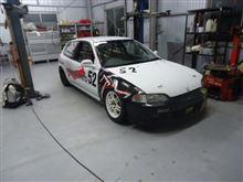 シビック レース車両 修理からの・・・・・