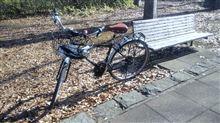 自転車でふら~っと新宿・渋谷まで。