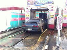 引渡し前の最後の洗車♪