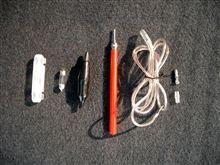 キャパシタの充・放電機作成とリモートケーブルのバッ直化テスト
