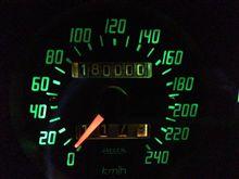 180000km達成!!