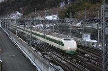 上越新幹線、200系K47編成 記録撮影 (上毛高原駅)