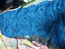 とっても暖か寝袋投入。