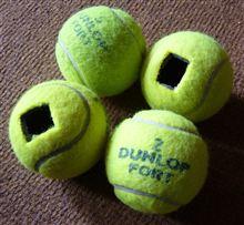 テニスボールの利用