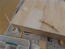 和室で塗装する!
