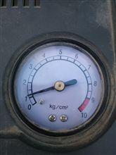 タイヤの空気圧点検してますか~