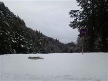 雪が降ったから山へ!