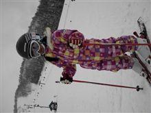 今日もスキー場へ