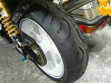 タイヤ交換終了。ところが…。