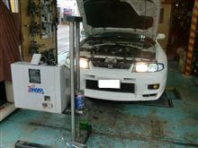 【田中オートサービス】33GT-R(BCNR33)とカプチーノ(EA21R)の車検♪