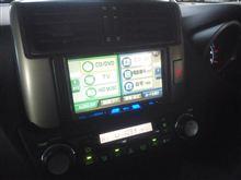 トヨタ、ランクルプラド、HDDナビ。
