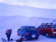 106と行く 雪に困ったなら雪に困らない場所へ行けばいいじゃない!