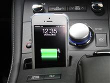 自作のiPHONE5充電スタンド