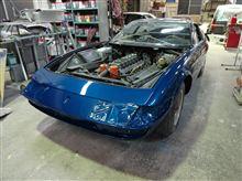 フェラーリ・365GTB/4!デイトナ!!修理完了♪