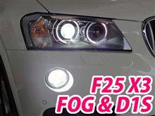BMW X3 F25をHID化!