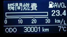 30,000突破(^^ゞ