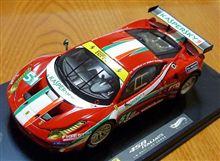 1/43 フェラーリ458イタリア ルマン2011