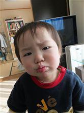 1歳児の反抗期・・・か? ( ̄▽ ̄;)ゞ