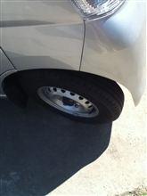タイヤ交換日和