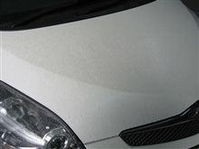 新車の下地処理(鉄粉クリーナー) ボディガラスコーティング 愛知県豊田市 倉地塗装 KRC