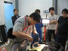 磨き講習 ボディガラスコーティング 愛知県豊田市 倉地塗装 KRC