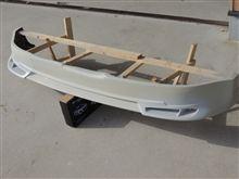 コペンフロントハーフの新製品を作っています。