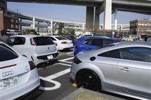 Audi大黒オフ&EOCCオフ参加'13.03