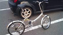 サイクリングで悲劇。(・ω・;)