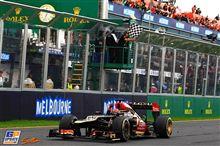 2013 F1初戦 ライコネン勝つ!