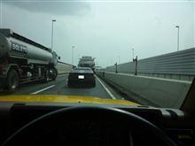前方に鏡面ローリーが走っている時に、自分のマシンの走行中の姿を見ると「ムフフ ♡」ってなるね