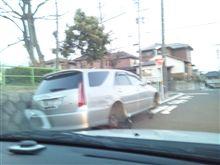 放置車両  4