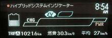 満タン35.3リットルで1000km達成!(^ω^)
