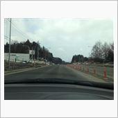 道路に雪は無いのだけど・・・・
