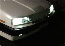 LEDヘッドライト点灯せず…(T_T)