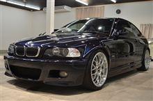 BMW M3(E46)の磨きボディーガラスコーティング【ラディアス上尾】