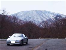 蔵王の周辺をドライブ