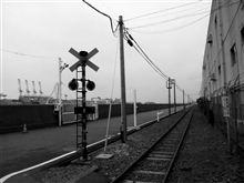 線路のある風景・・・  神奈川臨海鉄道国際埠頭専用線