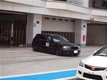 ついに、富士レーシングコース!!