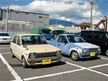 富士山クラシックカーレビューin富士宮2013っ! の駐車場からはじまる一日。