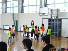 スポ少バスケットボール体験