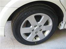 ラフェスタのタイヤ交換