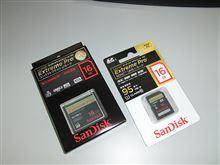 SD-16GBとCF-16GB・・・・・