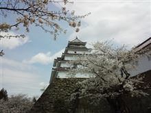 鶴ヶ城なう