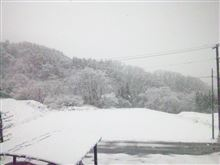なんという雪景色