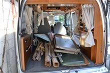 あるときは不燃物運搬車またあるときはDIY買い出し車、OKワゴン