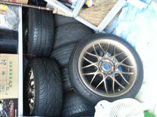 タイヤいっぱい。