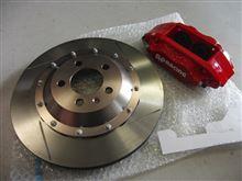ポロGTI(6R)向けにAP製ブレーキキャリパーキットを開発中です!