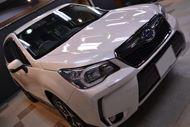 SUVの本場アメリカでも販売好調 スバル・フォレスターXTのガラスコーティング【リボルト東京WEST】