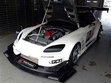 本日、S2000RR WTACに向けてテスト